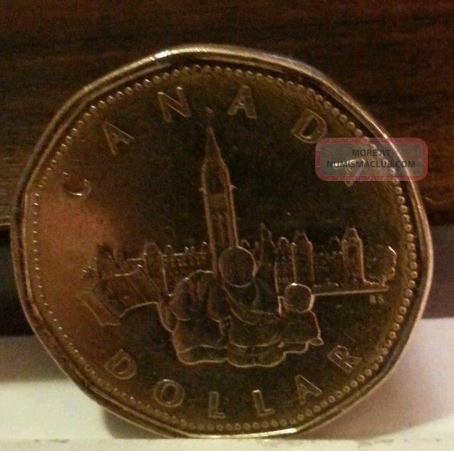Canadian Dollar 1867 1992 125th Confederation Anniversay Commemorative Loonie