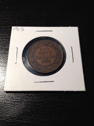 1915 Canadian Large Cent photo