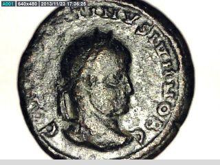 2rooks Roman Authentic Ancient Coin Emperor Constantine Or Constantius photo