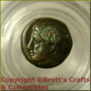 Kings Of Macedon - Philip Ii 359 - 336 Bc Head Of Apollo photo