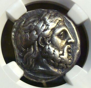 Macedonian: Philip Ii,  359 - 336 Bc. ,  Ar Tetradrachm,  Amphipolis,  Ngc Choice F photo