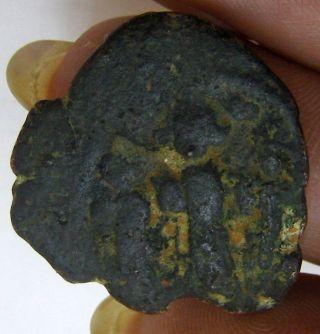 Heraclius,  Heraclius Constantine And Martina,  Ae Follis Coin Byzantium 2139 - 146 photo