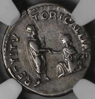 Hadrian Ngc Ch Vf Travel Series Gaul Commem Denarius 130 Ad Rare Ngc Star photo