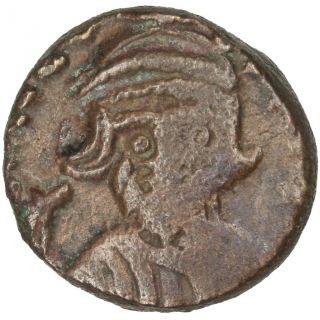 Bysantine Empire,  Constans Ii,  Demi Follis photo