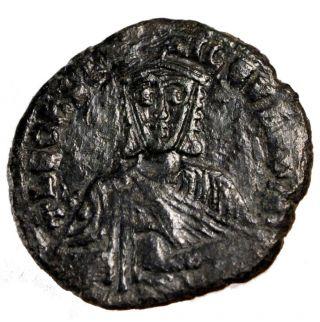 Bysantine Empire,  Léon Vi,  Follis photo