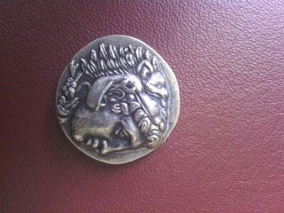 Coin Alexandr The Great Silver 925 photo