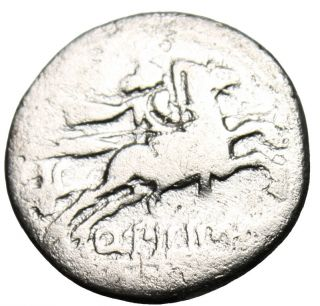 Q Marcius Pilipus Silver Ar Denarius