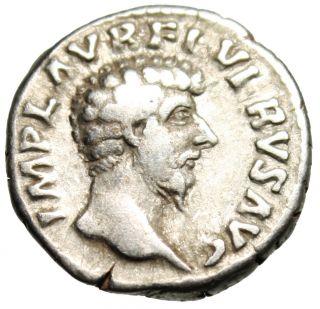 Lucius Verus Silver Denarius