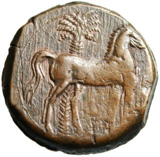 Zeugitania,  Carthage Ae 30