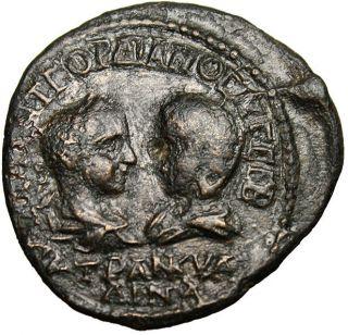 Gordian Iii & Tranquillina Anchialus Roman Provincial photo