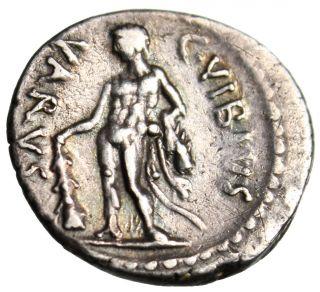 C Vibius Varus Silver Ar Denarius