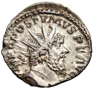 Ef Postumus Silver Antoninianus