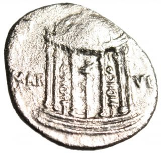 Augustus Silver Ar Denarius