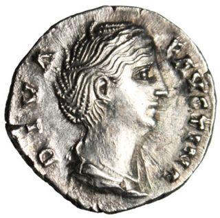 Faustina I Senior Posthumous Denarius