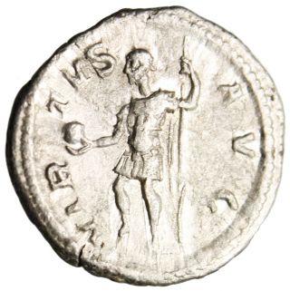 Vf Severus Alexander Silver Ar Denarius