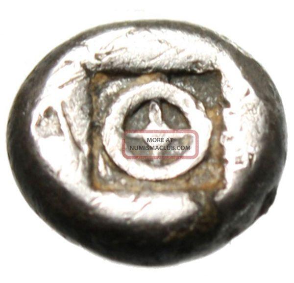 Boeotia,  Thebes Silver Ar Obol