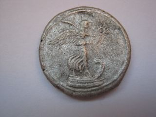 Roman Denarius Of Octavian,  29 - 27 B.  C. photo