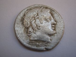 Roman Republic Denarius (anonymous),  150 - 100 B.  C. photo
