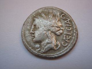 Roman Republic Of Family Cassia,  102 B.  C. photo