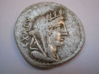Roman Republic Of Family Fabia,  102 B.  C. photo
