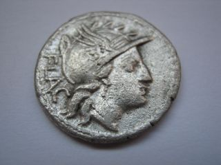 Roman Republic Of Family Rutilia,  77 B.  C. photo