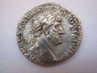 Perfekt Roman Silver Denarius Of Imp.  Hadrianus,  117 - 138 A.  D. photo