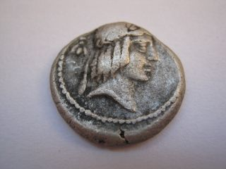 Roman Republic Of Family Clapurnia,  90 B.  C. photo