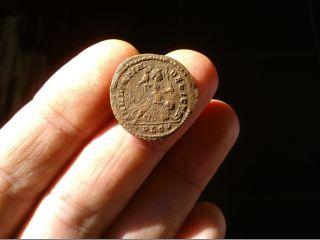 Constantinus I Ae 323 Ad; Sarmatia Devicta Lugdunum Gaul Ric Vii 214 Copper 20mm photo