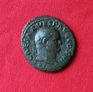 Vespasian Ae As. photo