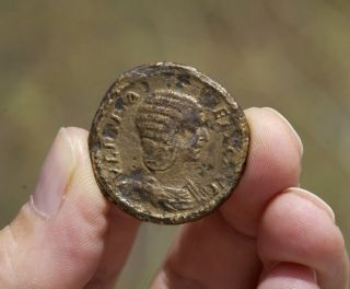 Imperial Rom Julia Domna 170 - 217,  Sestertius photo