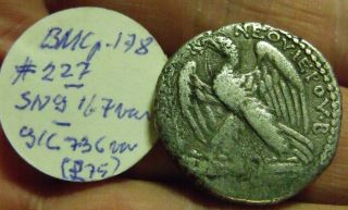 Old Coll ' N Ticket.  Syria,  Tripolis Ar Tetradrachm,  Vespasian,  14g,  Ca70 Ad,  Eagle photo