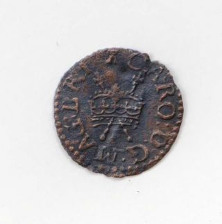 Charles I Farthing Royal Issue photo