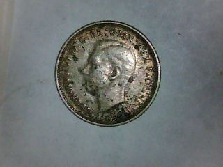 Please L@@k Austraila 1941 Silver Six Pence photo