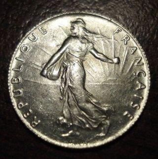 1916 France 1/2 Franc photo