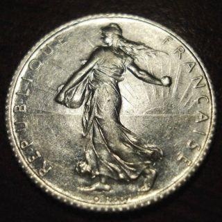1919 France 1 Franc photo