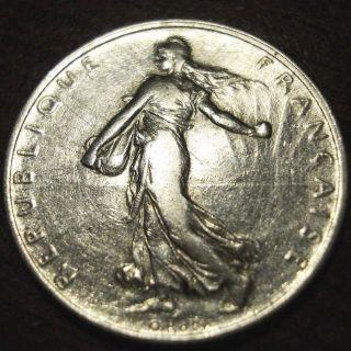 1918 France 2 Franc photo