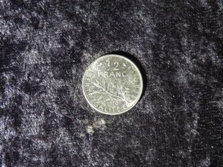 Foreign France 1970 1/2 Franc Vintage French Half Dollar Coin - Flip photo