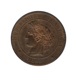 France - Ceres - 10 Centime 1896 A Ch.  Unc photo