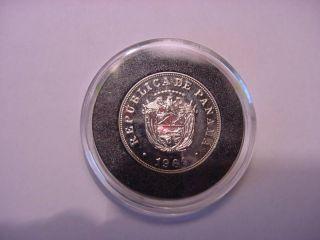 - Panama - 5 Centesimos - 1969 - Plastic Box - Copper - Nickel - Unc/proof photo