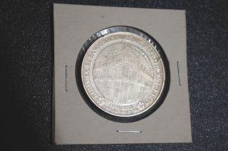 Banco De Mexico Medallion One Ounce.  999 Pure Silver photo