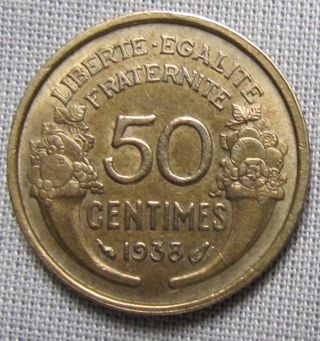 France 1938 - 50 Centimes photo