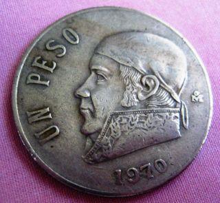 1970 Un Peso Estados Unidos Mexicanos photo