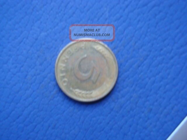 1986 - F Germany 5 Pfenning Coin Germany photo