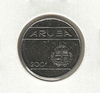 Aruba 25 Cents,  2001 photo