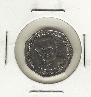 Jamaica Dollar,  1996,  Sir Alexander Bustamante,  National Heroes photo