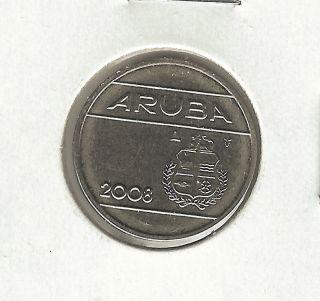 Aruba 25 Cents,  2008 photo