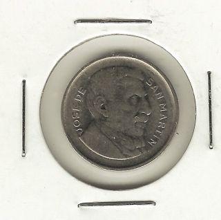 Argentina 10 Centavos,  1956 photo