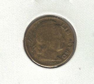 Argentina 5 Centavos,  1948 photo