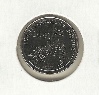 Eritrea 5 Cents,  1997 photo