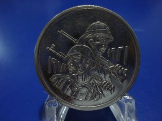 Iraq 1971,  50th Anniversary Of Iraqi Army (500 Fils Nickel Coin).  From Iraq. photo